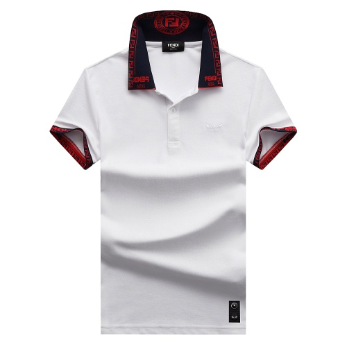 Fendi T-Shirts Short Sleeved For Men #847603