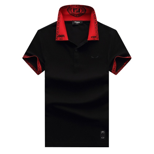 Fendi T-Shirts Short Sleeved For Men #847604