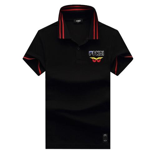 Fendi T-Shirts Short Sleeved For Men #847605