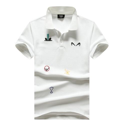 Fendi T-Shirts Short Sleeved For Men #847610
