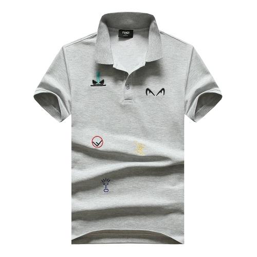 Fendi T-Shirts Short Sleeved For Men #847611