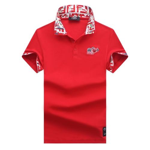 Fendi T-Shirts Short Sleeved For Men #847612