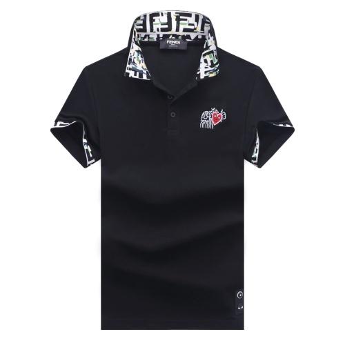 Fendi T-Shirts Short Sleeved For Men #847614