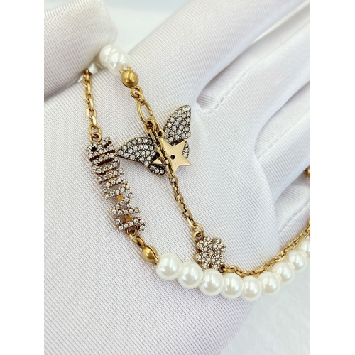 Replica Christian Dior Bracelet For Women #847658 $34.00 USD for Wholesale