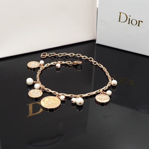 Replica Christian Dior Bracelet For Women #847659 $30.00 USD for Wholesale