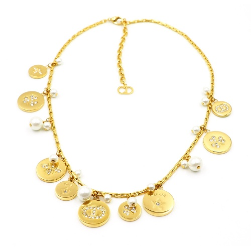 Christian Dior Necklace For Women #847663 $41.00, Wholesale Replica Christian Dior Necklace