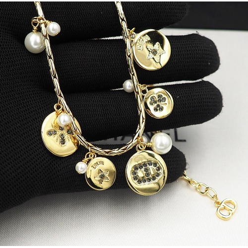 Replica Christian Dior Necklace For Women #847663 $41.00 USD for Wholesale