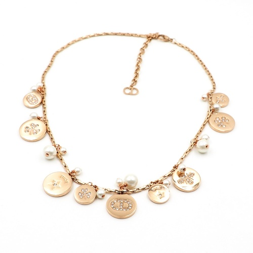 Christian Dior Necklace For Women #847664 $41.00, Wholesale Replica Christian Dior Necklace