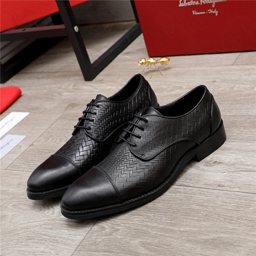 Ferragamo Leather Shoes For Men #847700