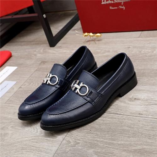 Ferragamo Leather Shoes For Men #847702