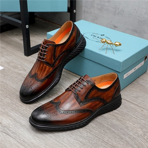 Prada Leather Shoes For Men #847729