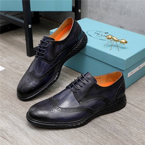 Prada Leather Shoes For Men #847730