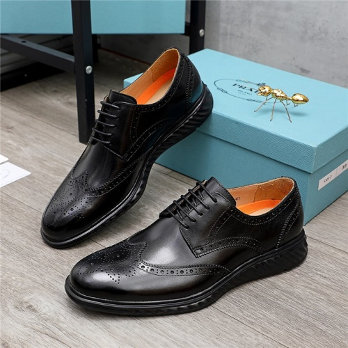 Prada Leather Shoes For Men #847731