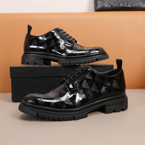Armani Leather Shoes For Men #847757
