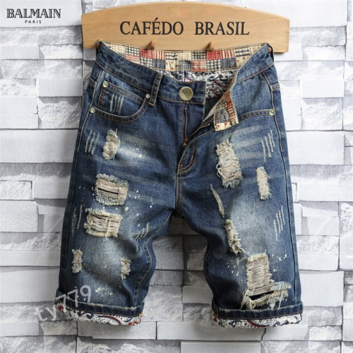 Balmain Jeans For Men #847782 $40.00, Wholesale Replica Balmain Jeans