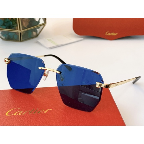 Cartier AAA Quality Sunglasses #847894