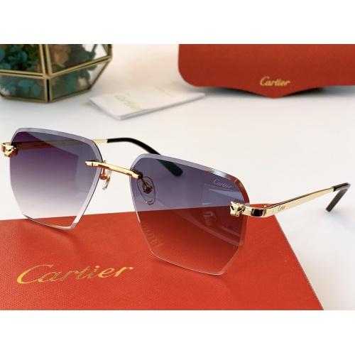 Cartier AAA Quality Sunglasses #847896