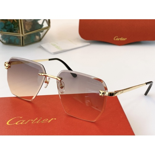 Cartier AAA Quality Sunglasses #847898