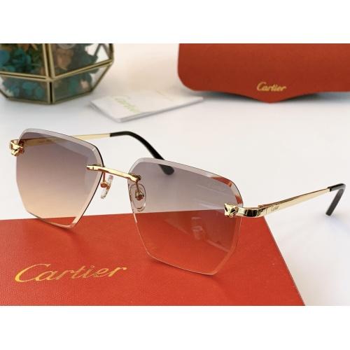 Cartier AAA Quality Sunglasses #847898