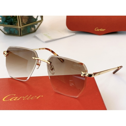 Cartier AAA Quality Sunglasses #847899