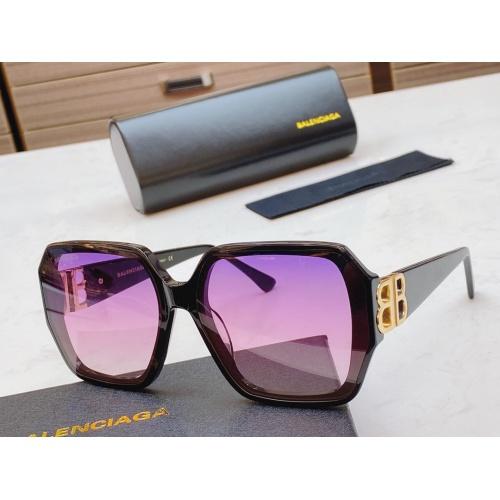 Balenciaga AAA Quality Sunglasses #847941