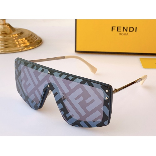 Fendi AAA Quality Sunglasses #847976
