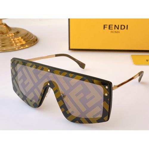 Fendi AAA Quality Sunglasses #847979