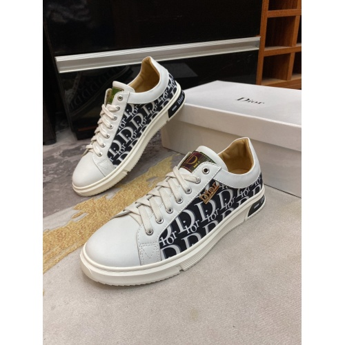 Christian Dior Casual Shoes For Men #848101 $76.00, Wholesale Replica Christian Dior Casual Shoes