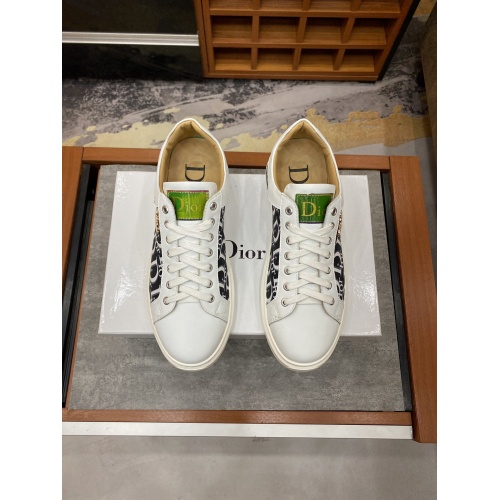 Replica Christian Dior Casual Shoes For Men #848101 $76.00 USD for Wholesale