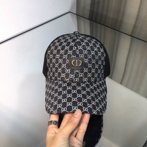 Replica Christian Dior Caps #848251 $32.00 USD for Wholesale