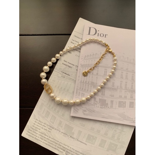 Christian Dior Necklace #848587 $32.00, Wholesale Replica Christian Dior Necklace