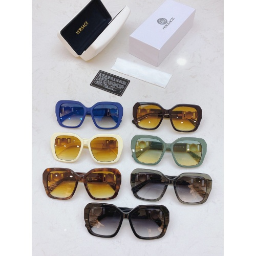Replica Versace AAA Quality Sunglasses #848716 $56.00 USD for Wholesale