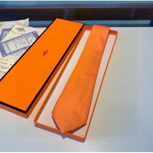 Hermes Necktie #848814 $40.00 USD, Wholesale Replica Hermes Necktie