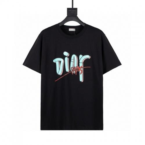 Christian Dior T-Shirts Short Sleeved For Men #849101