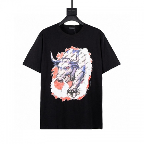 Balenciaga T-Shirts Short Sleeved For Men #849126
