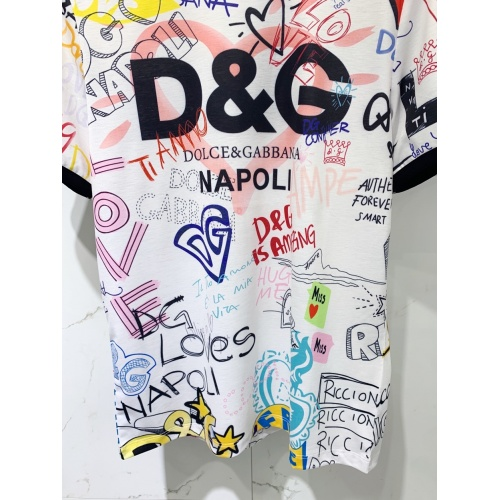Replica Dolce & Gabbana D&G T-Shirts Short Sleeved For Men #849578 $41.00 USD for Wholesale