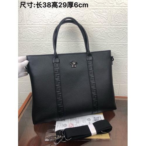 Versace AAA Man Handbags #849621