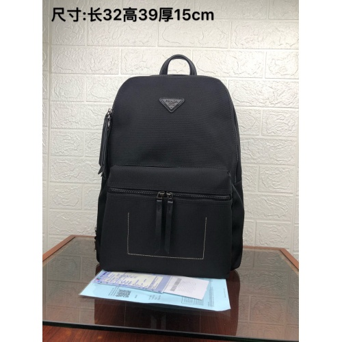 Prada AAA Man Backpacks #849624