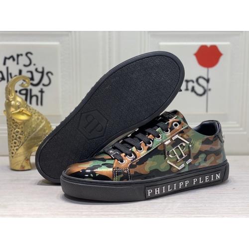 Replica Philipp Plein PP Casual Shoes For Men #849644 $85.00 USD for Wholesale