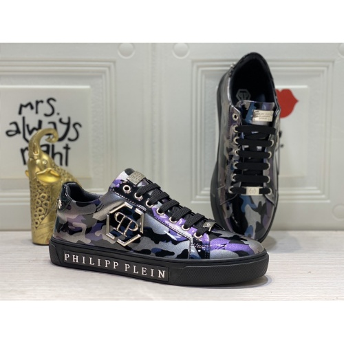 Philipp Plein PP Casual Shoes For Men #849645 $85.00 USD, Wholesale Replica Philipp Plein Shoes