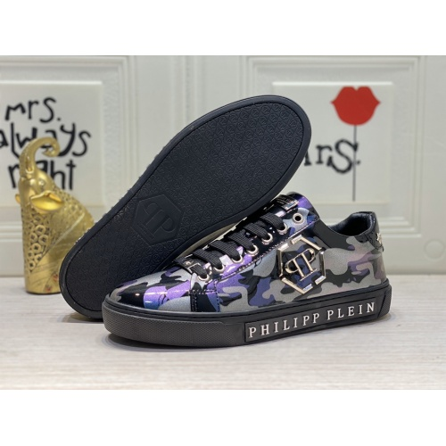 Replica Philipp Plein PP Casual Shoes For Men #849645 $85.00 USD for Wholesale