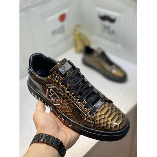 Replica Philipp Plein PP Casual Shoes For Men #849646 $85.00 USD for Wholesale