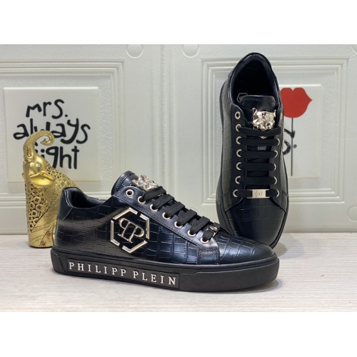 Philipp Plein PP Casual Shoes For Men #849647 $85.00 USD, Wholesale Replica Philipp Plein Shoes