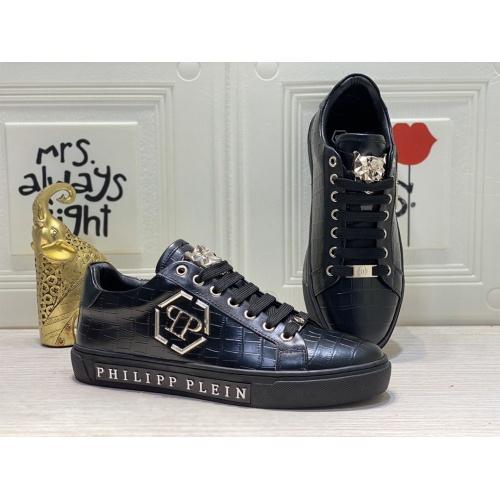 Philipp Plein PP Casual Shoes For Men #849647 $85.00 USD, Wholesale Replica Philipp Plein Shoes