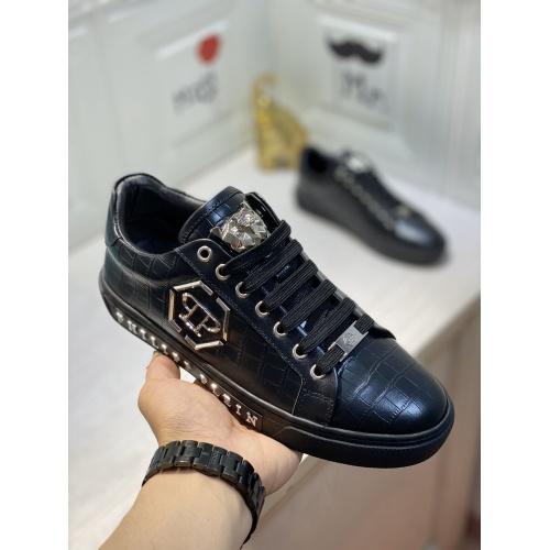 Replica Philipp Plein PP Casual Shoes For Men #849647 $85.00 USD for Wholesale