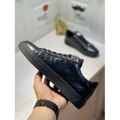 Replica Philipp Plein PP Casual Shoes For Men #849647 $85.00 USD for Wholesale