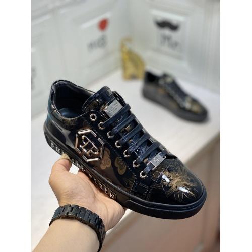 Replica Philipp Plein PP Casual Shoes For Men #849648 $85.00 USD for Wholesale