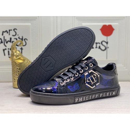 Replica Philipp Plein PP Casual Shoes For Men #849649 $85.00 USD for Wholesale