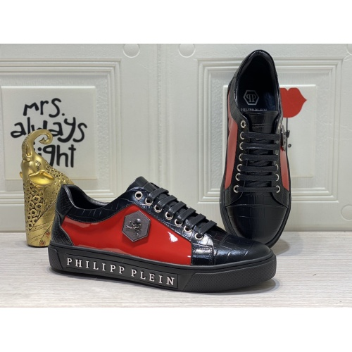 Philipp Plein PP Casual Shoes For Men #849651 $85.00 USD, Wholesale Replica Philipp Plein Shoes