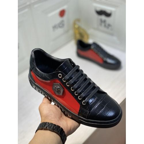 Replica Philipp Plein PP Casual Shoes For Men #849651 $85.00 USD for Wholesale